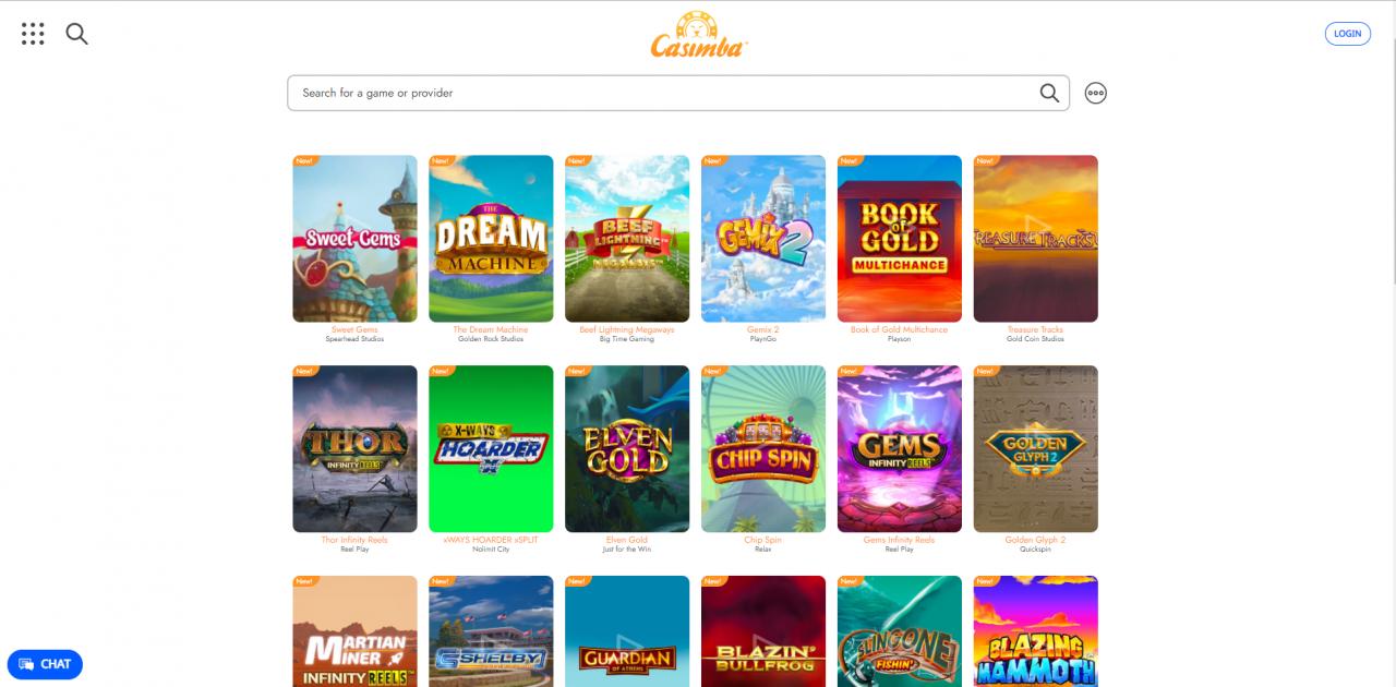 Casimba Desktop Games.
