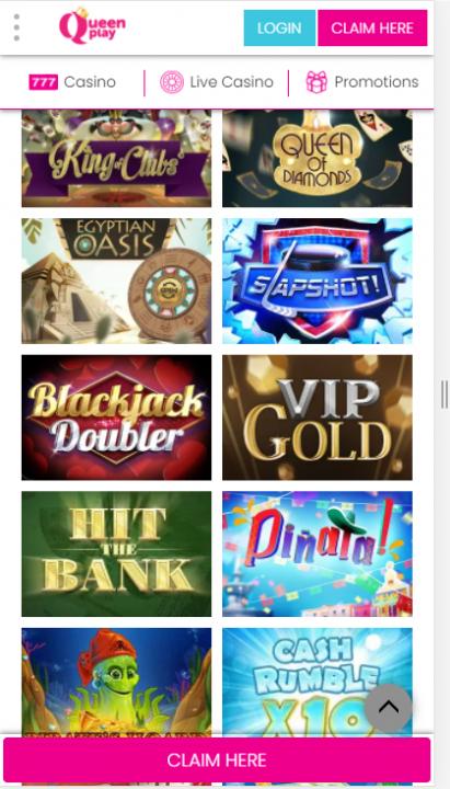 QueenPlay Games Mob